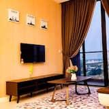 Design appartement, 2 slaapkamers - Woonruimte