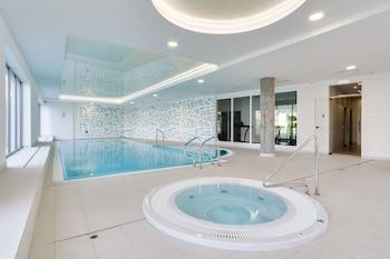 ภาพ Elite Apartments Waterlane Pool Access ใน กดันสค์