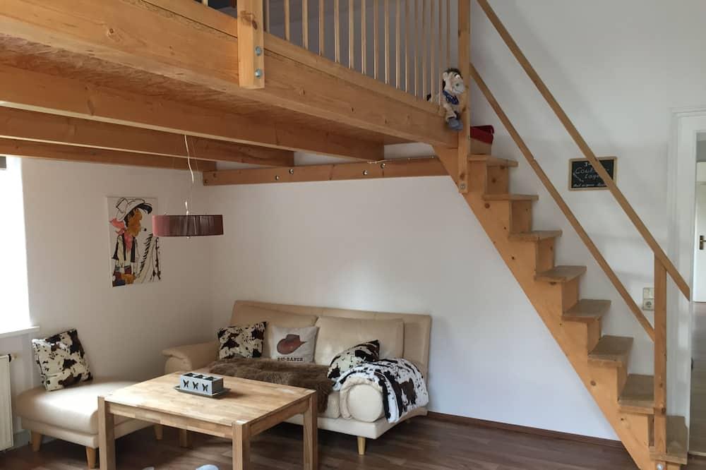 Appartamento, 2 camere da letto (Cleaning Fee EUR 20,00) - Area soggiorno