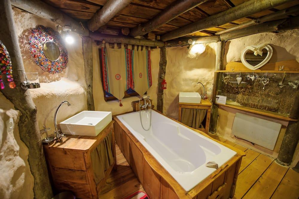 บ้านพักโรแมนติก (Maison de Hobbit) - ห้องน้ำ