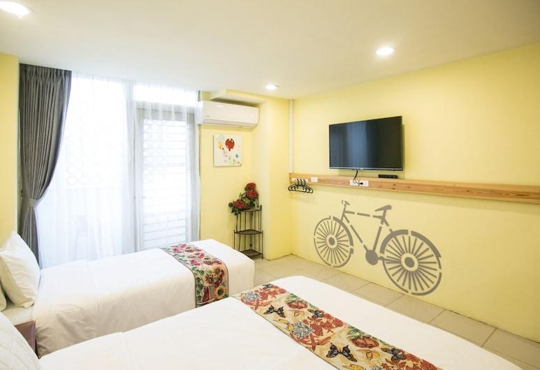 花蓮紐澳華假期飯店, 花蓮市, 標準三人房, 客房