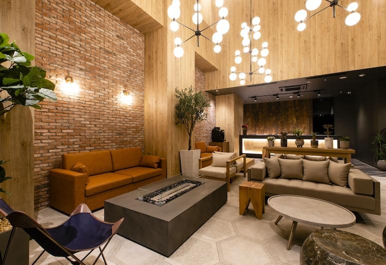 Hotel Wing International Sapporo Susukino, Sapporo, Salónik v hale
