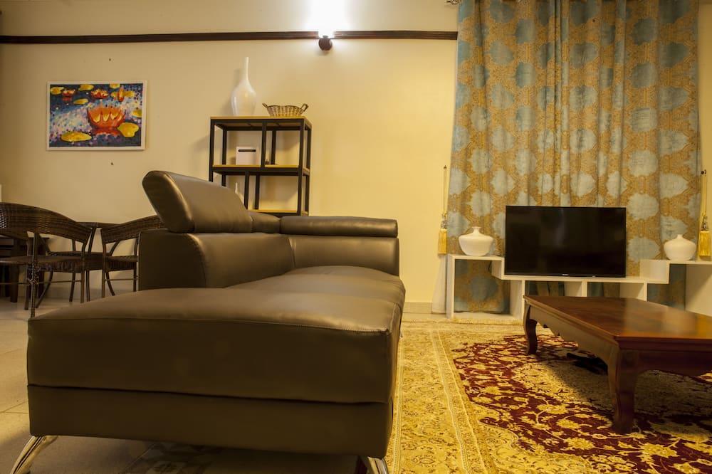 Семейные апартаменты, 2 ванные комнаты - Зона гостиной