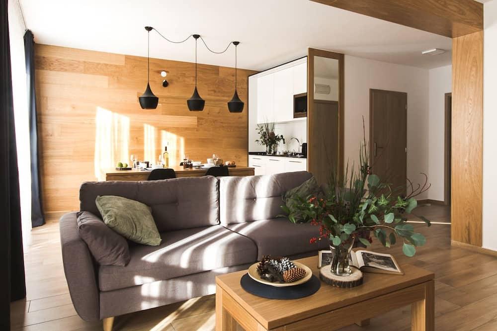 Comfort Apartment, Fireplace - Living Area