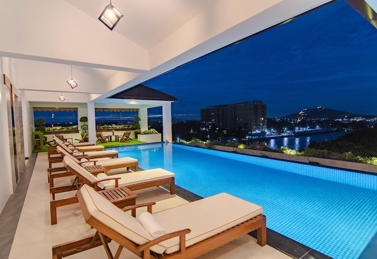 Hotel The Haven, Mandalay, Piscina al aire libre