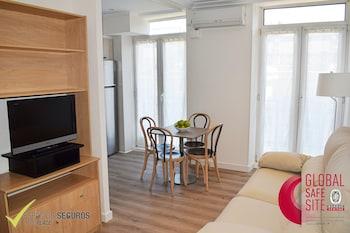 Mynd af Sercotel Apartamentos Europa í San Sebastian