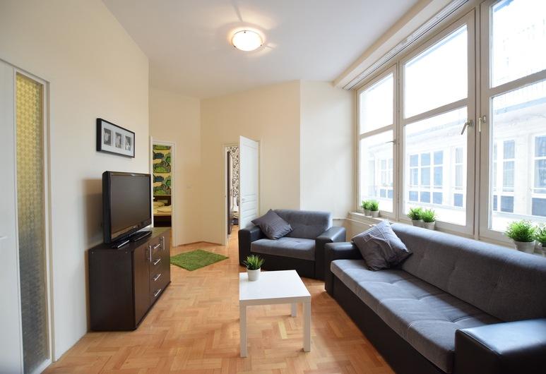 Budget Apartment by Hi5 - Fehérhajó, Βουδαπέστη, Διαμέρισμα, 3 Υπνοδωμάτια (70), Περιοχή καθιστικού