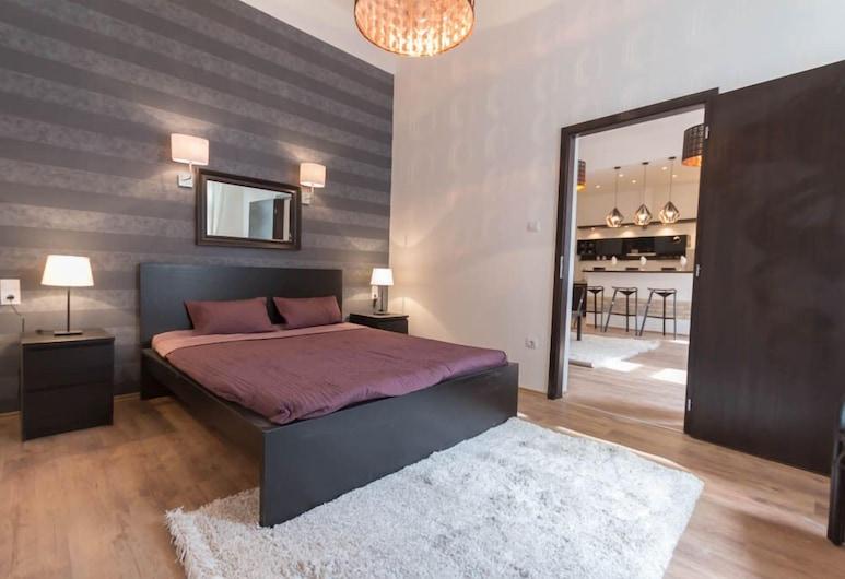 Luxury Apartment by Hi5 -Városház Suite, Budapešť, Apartmán, 1 spálňa (66), Izba