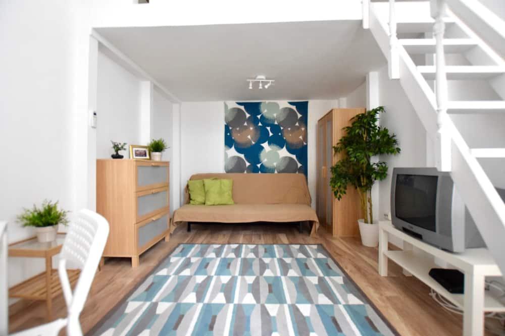Apartament z 2 sypialniami - Zdjęcie opisywane