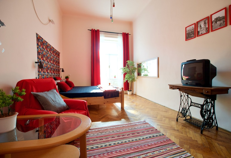 Budget Apartment by Hi5 - Ülői 36., Budapešť, Štúdio, Obývacie priestory
