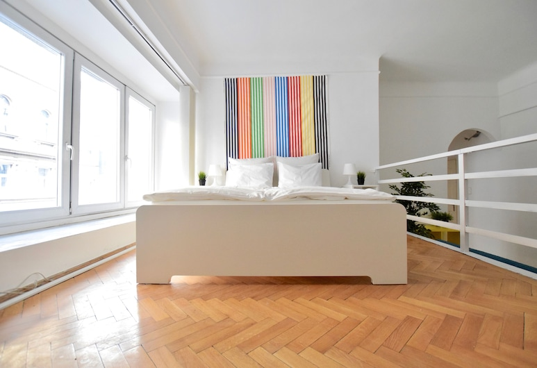 Budget Apartment by Hi5 - Akácfa 4., Budapešť, Apartmán, 2 spálne, Izba
