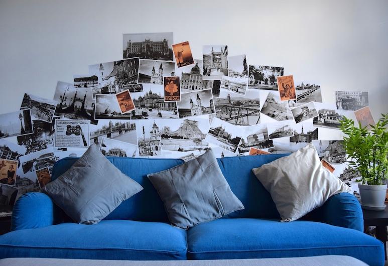 Luxury Apartment by Hi5 - Bajcsy Suite, Budapešť, Apartmán, 3 spálne, Obývacie priestory