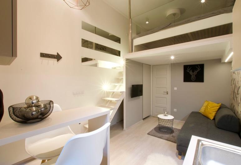 Standard Apartment by Hi5 - Teréz 6., Budapešť, Štúdio, Obývacie priestory