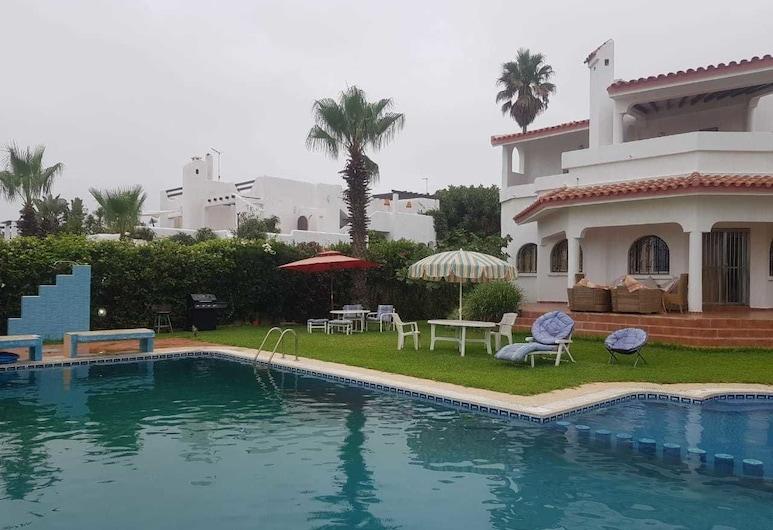 Villa luxe cabo negro, M'diq, Villa, 6 hálószobával, privát medence, Saját medence