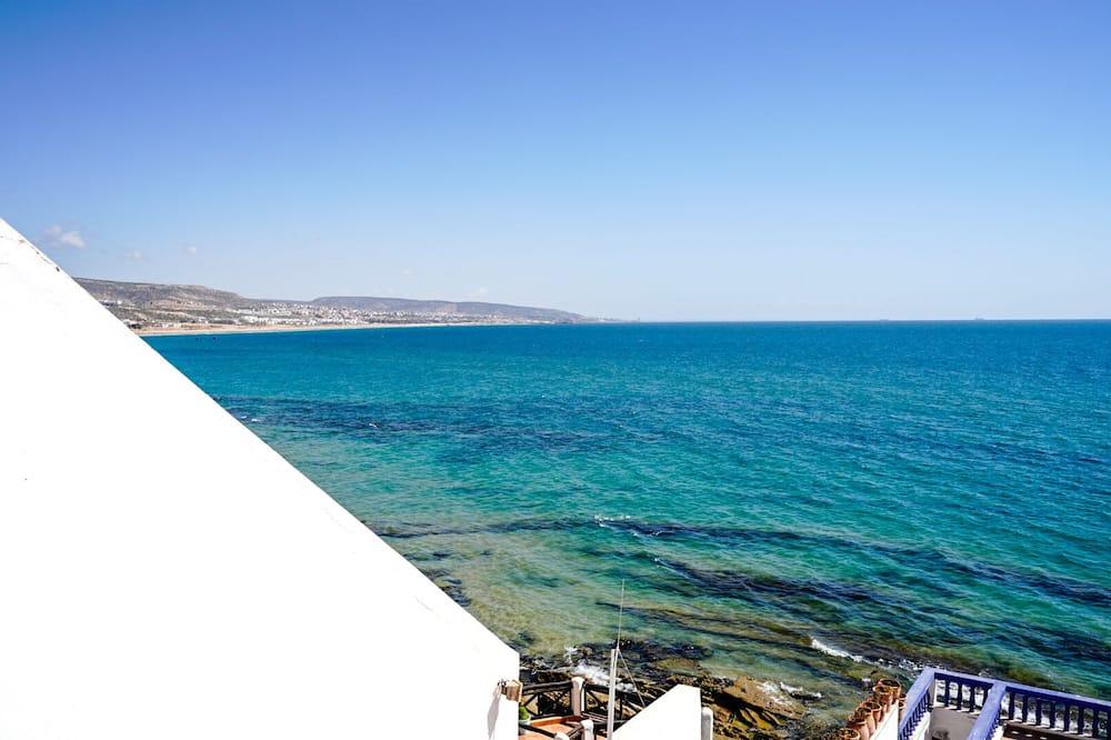 Kamar Twin Basic, pemandangan samudra - Pantai