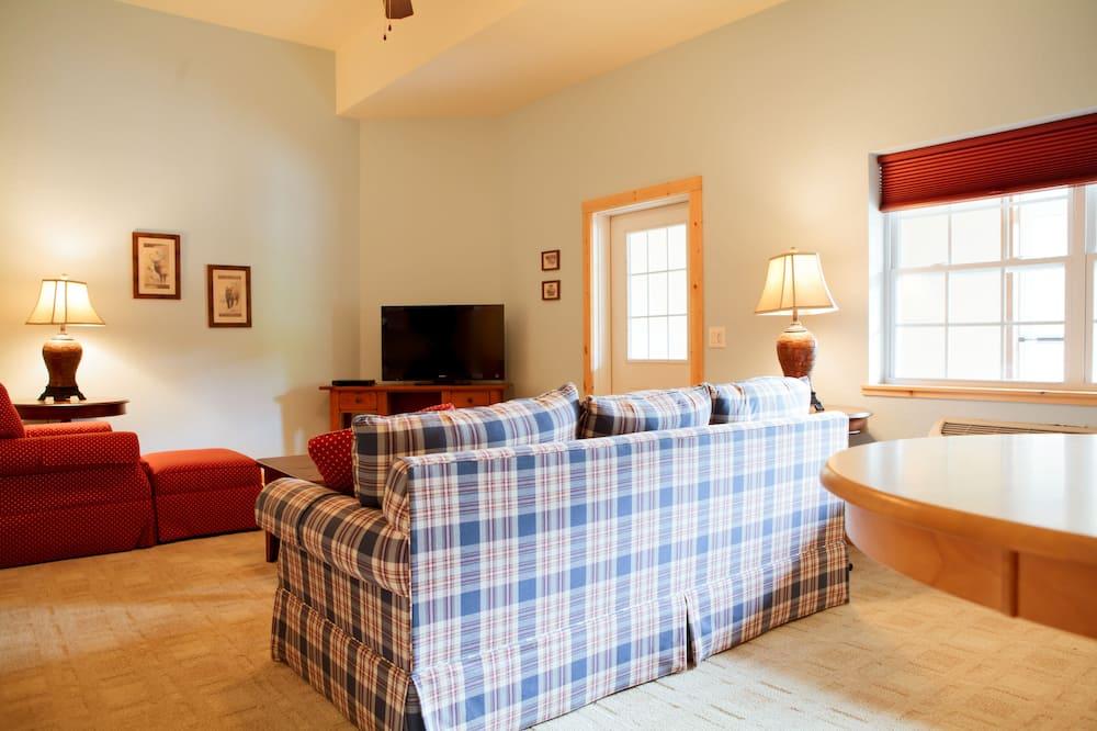 舒適套房, 庭園景觀 - 客廳