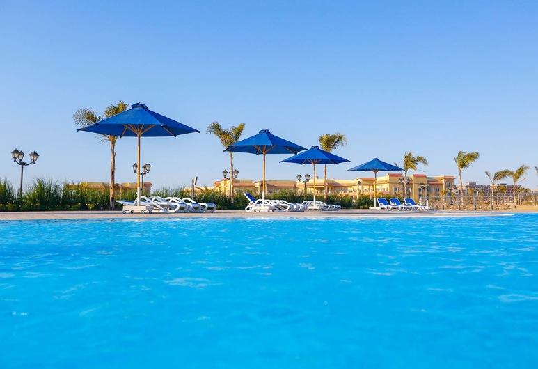 Tolip El Fairouz, Φαγιέντ, Εξωτερική πισίνα