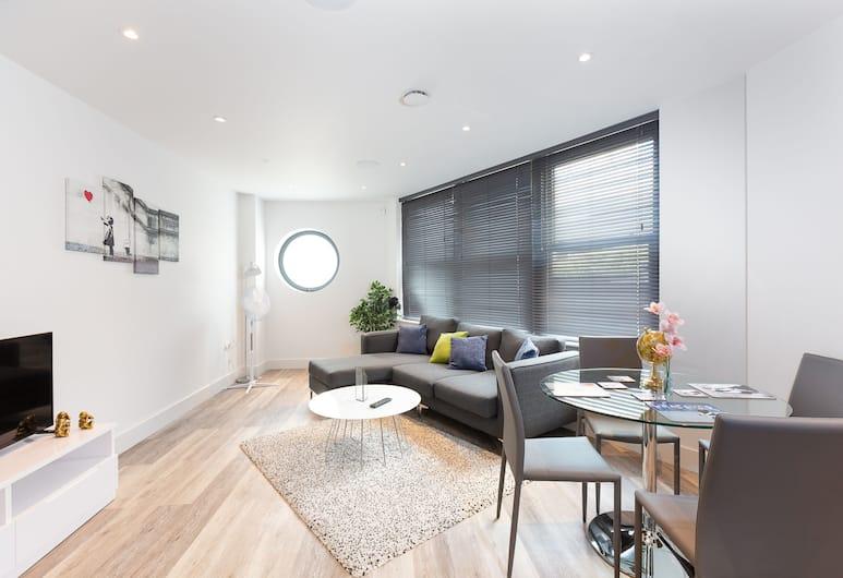 ZO Apartments Chelsea, London, Family külaliskorter, 2 magamistoaga, Lõõgastumisala