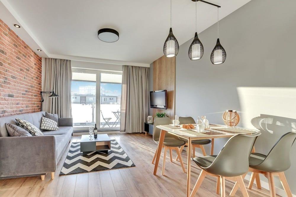 Dizaina dzīvokļnumurs, divas guļamistabas (213) - Dzīvojamā istaba