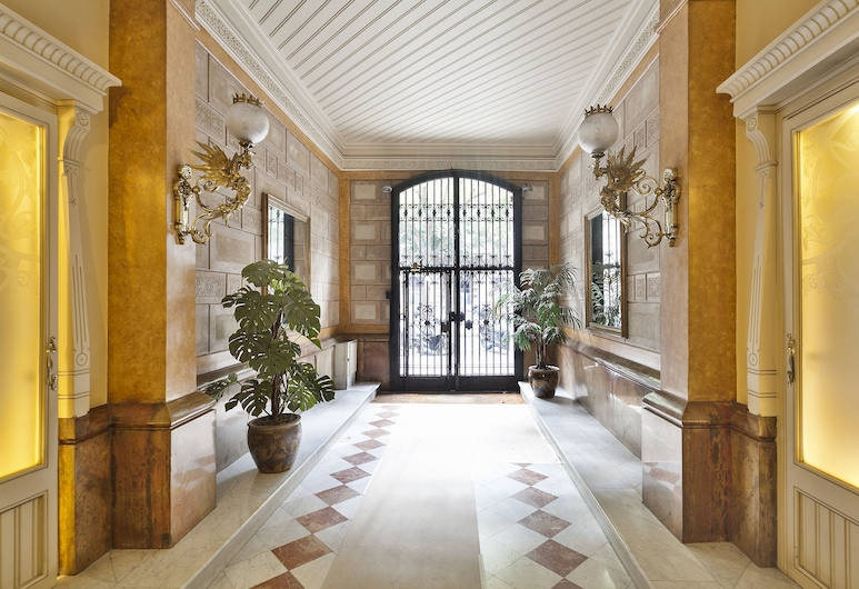 藍布拉加泰羅尼亞 22 烏瑪套房酒店, 巴塞隆拿, 入口