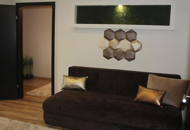 Mox Downtown Apartman, Debrecen, Appartement Premium, 2 chambres, Coin séjour