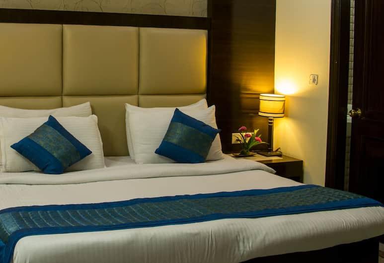 Hotel Radiance Karol Bagh, New Delhi, Eenvoudige kamer, Kamer