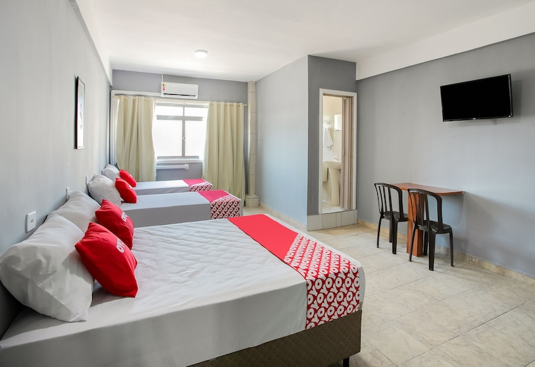 Hotel Boneville, Sao Paulo, Quadruple Room, Multiple Beds, Guest Room
