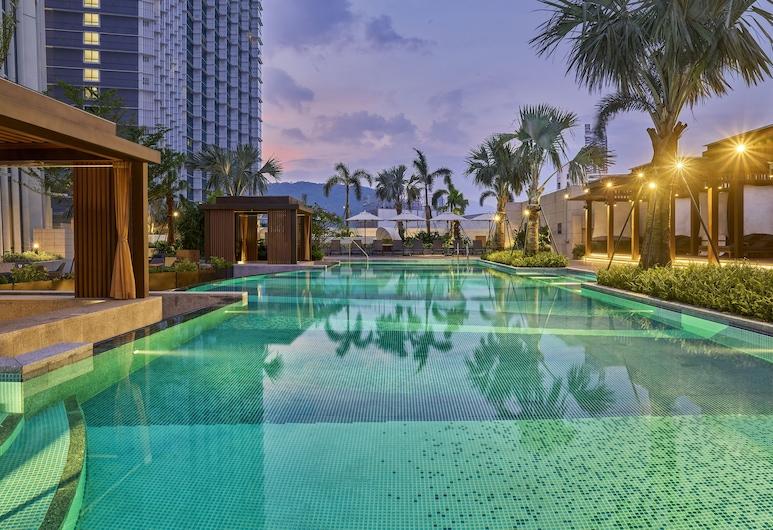 Hyatt Regency Shenzhen Yantian, Shenzhen, Apartmá, výhled na oceán (Regency), Venkovní bazén