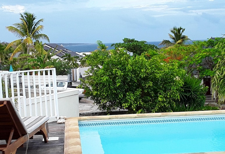 Villa With 3 Bedrooms in Saint Martin, With Wonderful sea View, Private Pool, Enclosed Garden - 2 km From the Beach, Orient Bay, Beach/Ocean View