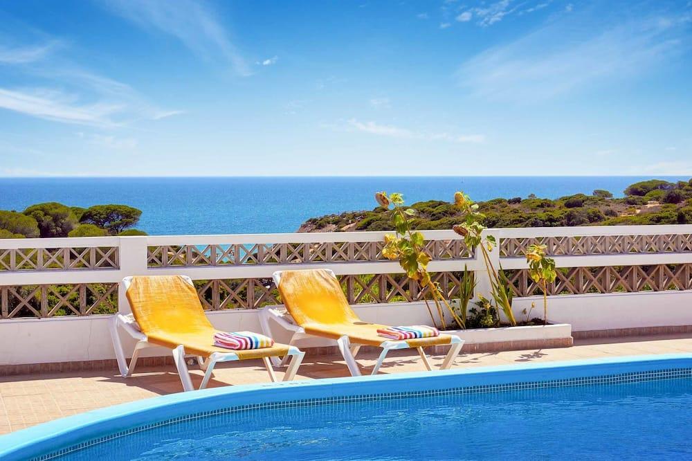 Villa, 4 Quartos, Vista Mar - Piscina privada