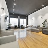 Пентхаус «люкс», 1 спальня (with Loft Plaza 200) - Зона гостиной