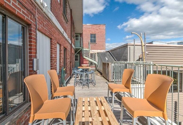 SOHO 3 Central Plateau Terrasse Liv Liv MTL, Montreal, Apartamento (2 Bedrooms), Terraço/Pátio Interior