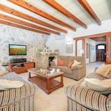 Villa, 3 hálószobával, kilátással a hegyre - Nappali rész