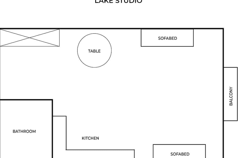 Comfort Apartment (Osiedle Stalowe 16/126) - Floor Plan