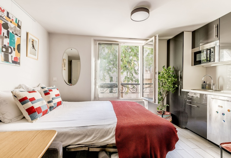 Edgar Suites Paris Louvre - Bellan, Paryż, Apartament standardowy typu Suite, z łazienką (1B), Pokój