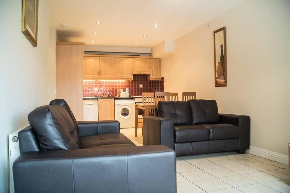 شقة في المدينة - منطقة المعيشة