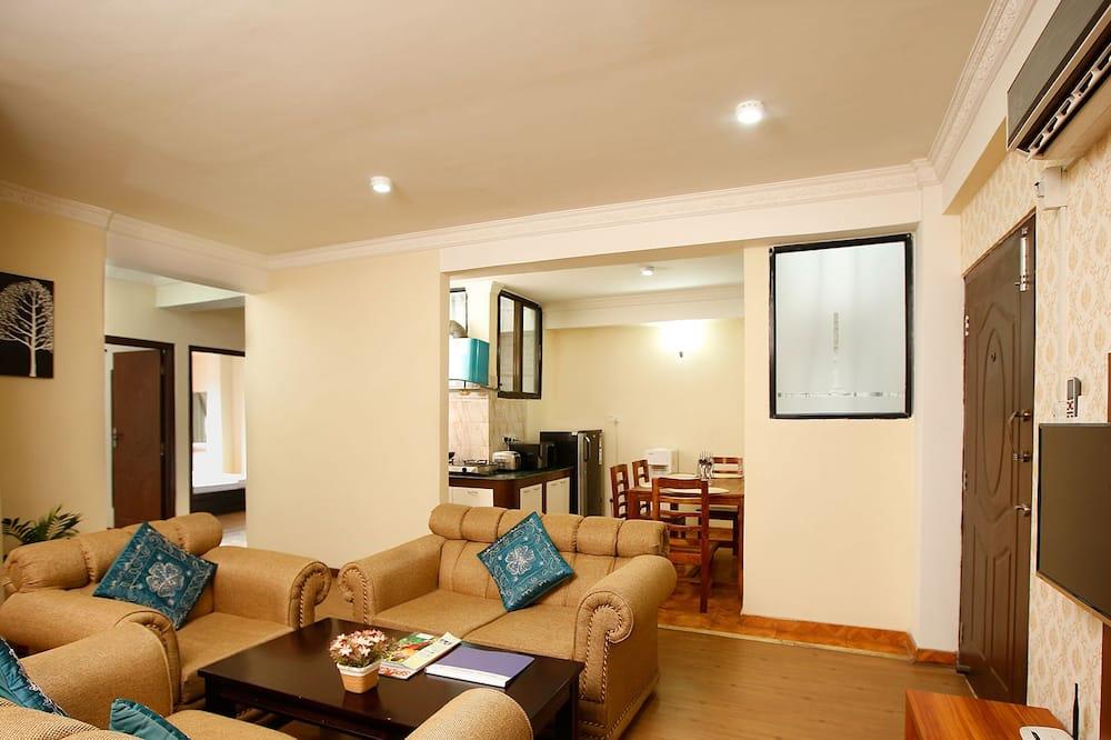 Lägenhet - 2 sovrum - icke-rökare - Vardagsrum