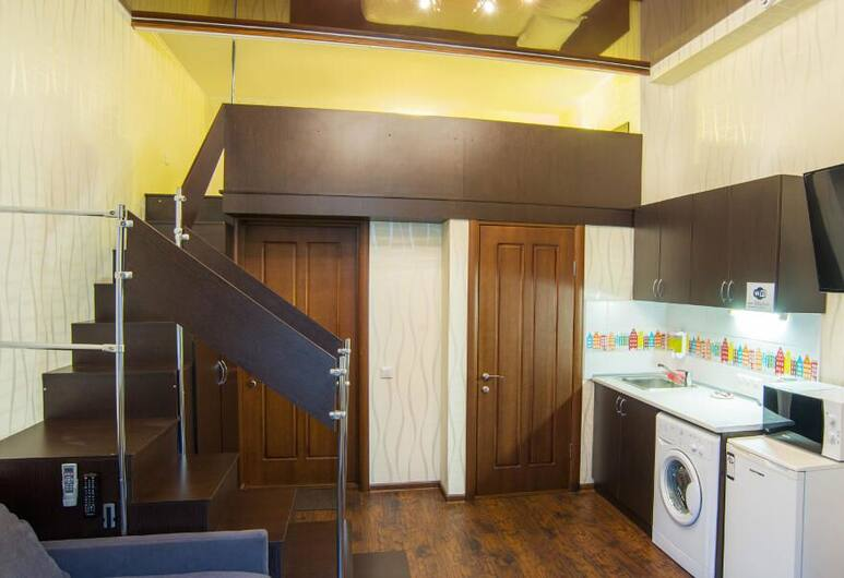 Soprano Apart-hotel, Odessa, Family Apartment, Room