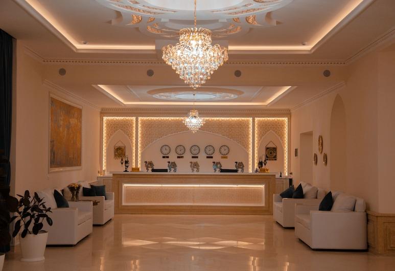 Отель Orient Star Varaxsha, Бухара, Стойка регистрации