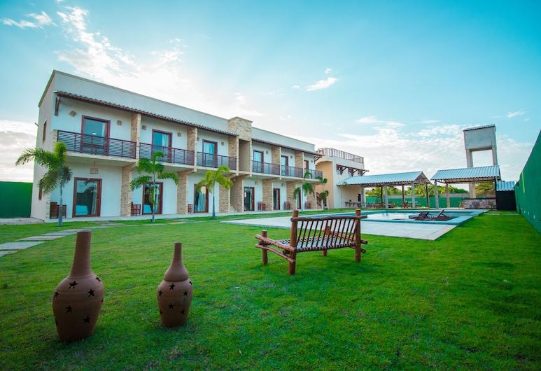 Villa Coco Beach, Cruz, Fassaad