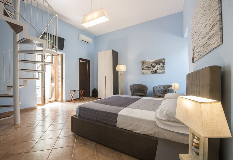 Casa d'Amare, Sorrento, Tweepersoonskamer (Sea room), Kamer