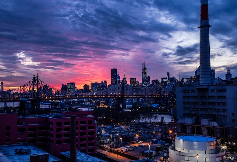 La Quinta Inn and Suites by Wyndham Long Island City, Long Island City, Blick auf die Stadt