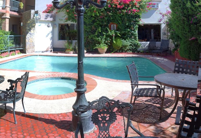 Vacation Rentals María Bonita, Ciudad Juarez, Business Σουίτα, Θέα στον κήπο