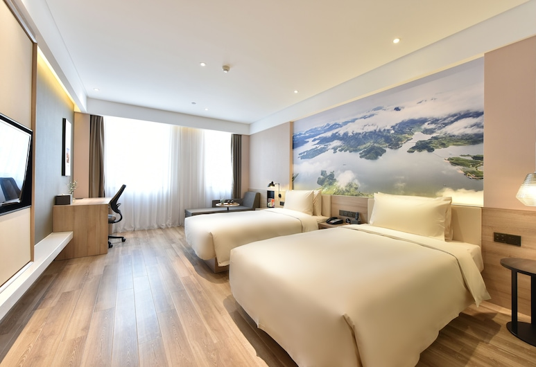 Atour Hotel Silicon Valley Yizhuang Beijing, Beijing, Twin Room, Guest Room