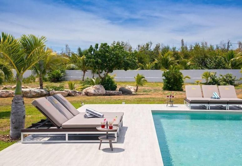 Villa Grenadine, Les Terres-Basses, Solarium