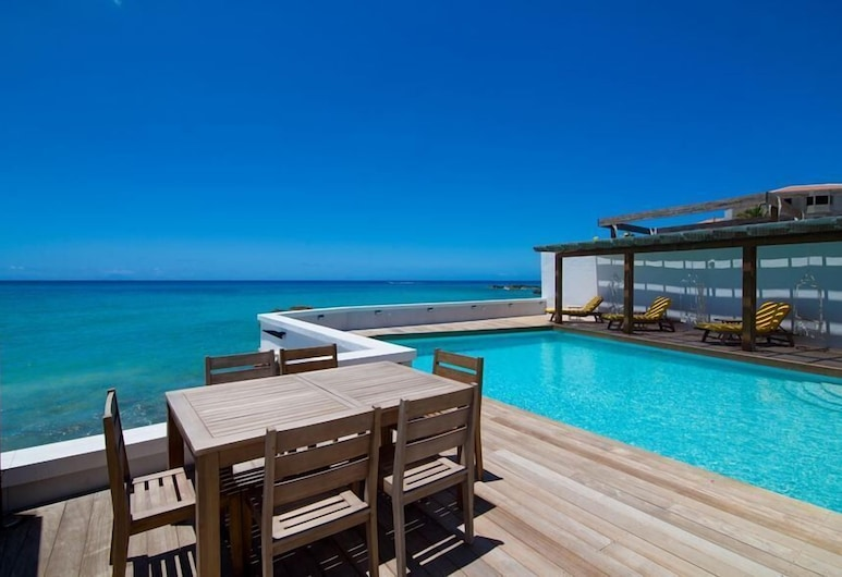 Villa Mary's Beach Cottage, Симпсон-Бей, Вилла, 2 спальни, для некурящих, Вид на пляж/ океан