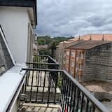 Komforta dzīvokļnumurs, četras guļamistabas - Balkons