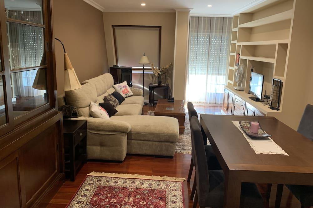 Komforta dzīvokļnumurs, četras guļamistabas - Dzīvojamā zona