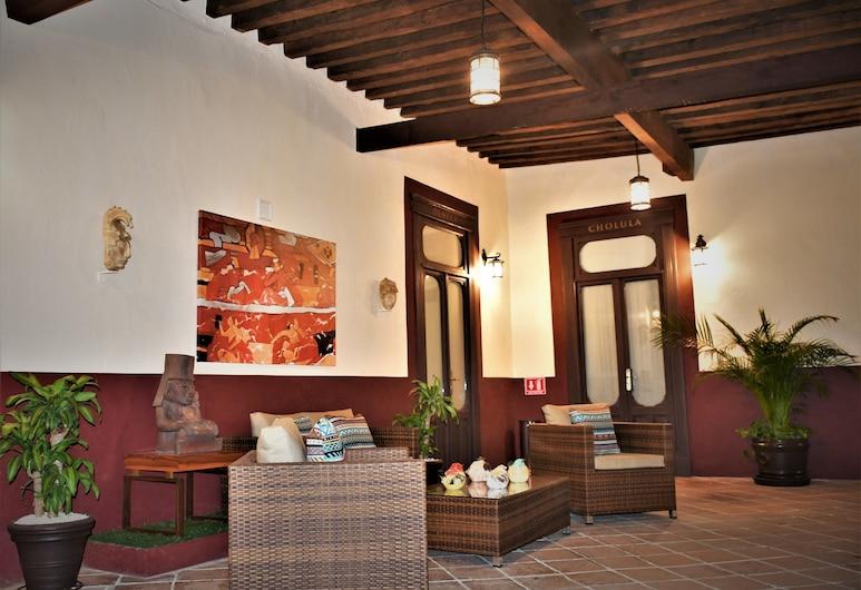 加林多阿洪迪嘉昆塔精品酒店, 聖佩德羅喬盧拉, 陽台