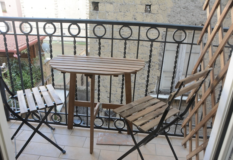 Vicarìa - GuestHouse - Napoli Centrale, Naples, Rodinný apartmán, 2 spálne, balkón, Balkón